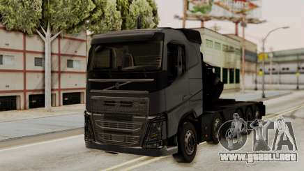 Volvo FH Euro 6 10x4 Exclusive Low Cab para GTA San Andreas