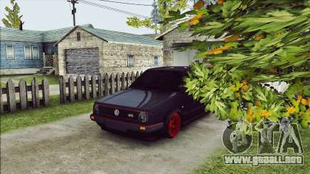 Volkswagen Golf Mk2 Line para GTA San Andreas