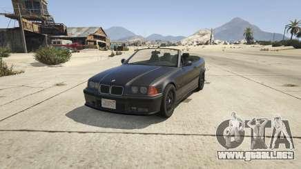 BMW M3 E36 Cabriolet 1997 para GTA 5