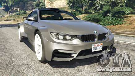 BMW M4 F82 WideBody para GTA 5