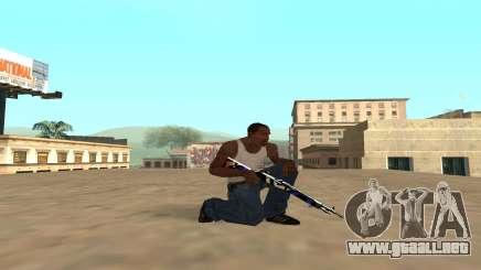 Rifle con un cachorro de tigre para GTA San Andreas