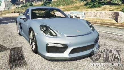 Porsche Cayman 2016 para GTA 5