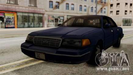 Ford Crown Victoria LP v2 Civil para GTA San Andreas