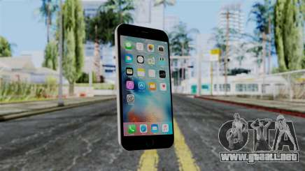 iPhone 6S Space Grey para GTA San Andreas
