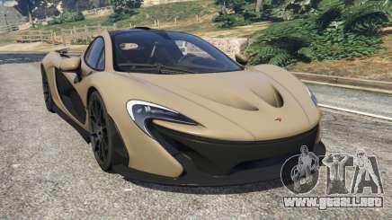 McLaren P1 2014 v1.2 para GTA 5