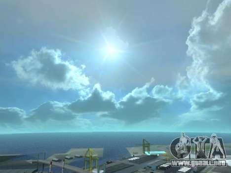 Realista Skybox HD 2015 para GTA San Andreas tercera pantalla