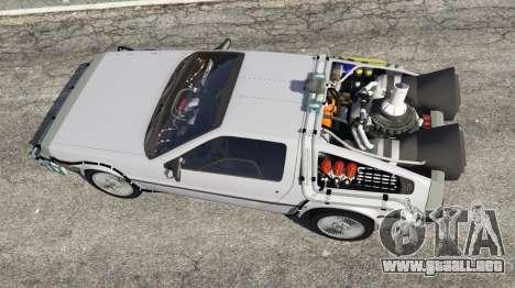 DeLorean DMC-12 Back To The Future v0.4 para GTA 5