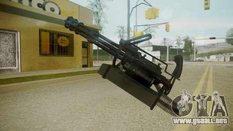 Atmosphere Minigun v4.3 para GTA San Andreas tercera pantalla