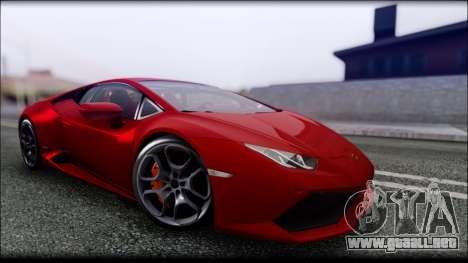KISEKI V4 para GTA San Andreas octavo de pantalla