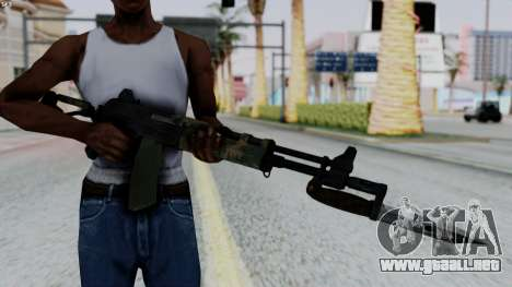 AK-47 from RE6 para GTA San Andreas tercera pantalla