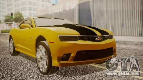 Chevrolet Camaro SS 2015 para GTA San Andreas