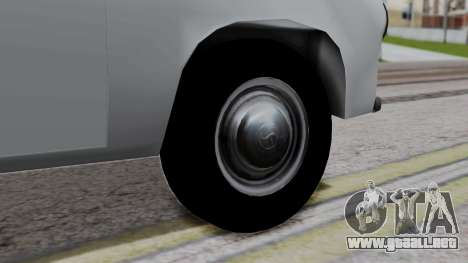 Syrena R20 v1.0 para GTA San Andreas vista posterior izquierda