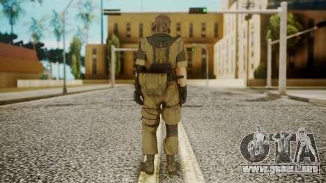 Venom Snake Other Arm para GTA San Andreas tercera pantalla