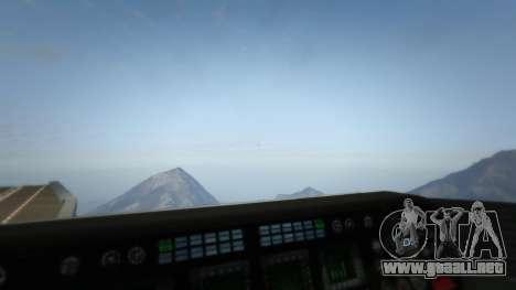 GTA 5 S.H.I.E.L.D. Helicarrier séptima captura de pantalla