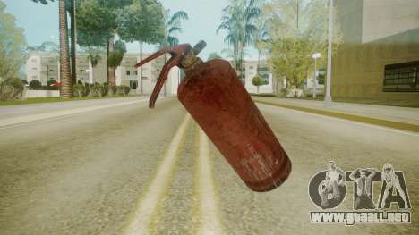 Atmosphere Fire Extinguisher v4.3 para GTA San Andreas tercera pantalla
