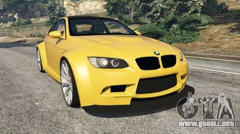BMW M3 (E92) WideBody v1.1 para GTA 5