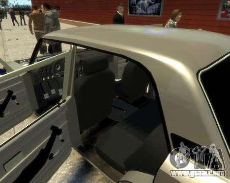Ваз 2106 Kavkaz Estilo para GTA 4 vista lateral