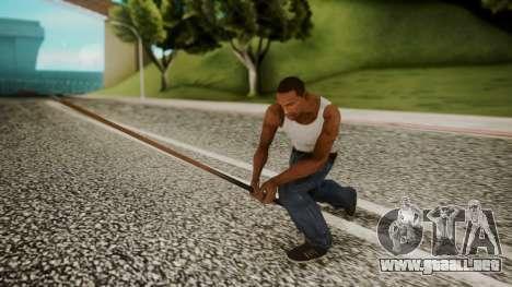 Pool Cue HD para GTA San Andreas tercera pantalla