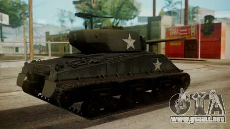 M4A3(76)W HVSS Sherman para GTA San Andreas left