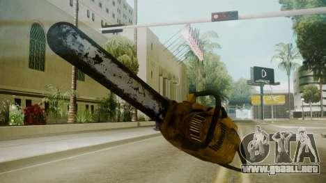 Atmosphere Chainsaw v4.3 para GTA San Andreas