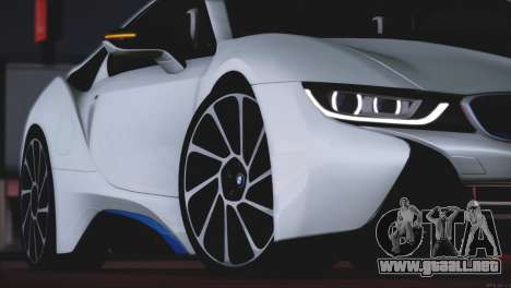 BMW i8 Coupe 2015 para la vista superior GTA San Andreas