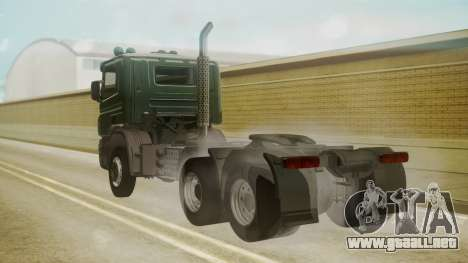 Scania P420 para GTA San Andreas left