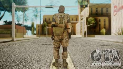 Venom Snake Wetwork para GTA San Andreas tercera pantalla