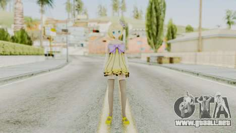 Project Diva F 2nd - Kagamine Rin Cheerful Candy para GTA San Andreas segunda pantalla