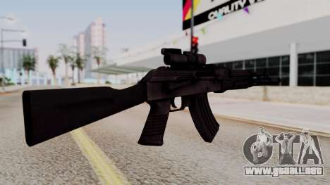 AK-103 from Special Force 2 para GTA San Andreas segunda pantalla