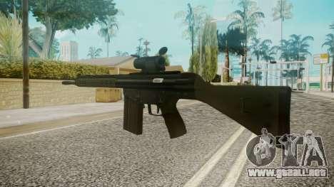 Rifle by EmiKiller para GTA San Andreas segunda pantalla