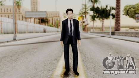 Agent Mulder (X-Files) para GTA San Andreas segunda pantalla