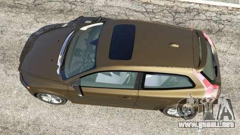 GTA 5 Volvo C30 T5 vista trasera
