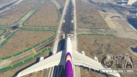 GTA 5 Airbus A380-800 v1.1 octavo captura de pantalla