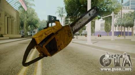 Atmosphere Chainsaw v4.3 para GTA San Andreas segunda pantalla