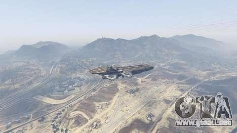 GTA 5 S.H.I.E.L.D. Helicarrier tercera captura de pantalla