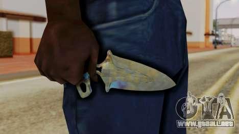 La sombra de la Daga endurecimiento Superficial para GTA San Andreas tercera pantalla