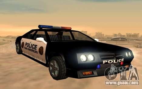 Cuatro de la policía de Buffalo para GTA San Andreas