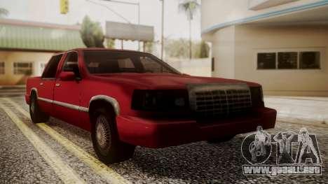 Stretch Sedan para GTA San Andreas