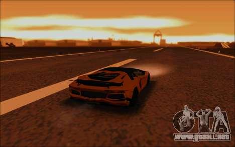 Lamborghini Aventador MV.1 [IVF] para vista inferior GTA San Andreas