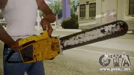 Atmosphere Chainsaw v4.3 para GTA San Andreas tercera pantalla