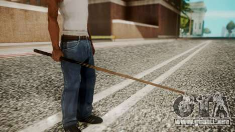 Pool Cue HD para GTA San Andreas