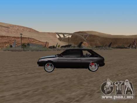 VAZ 2108 para visión interna GTA San Andreas