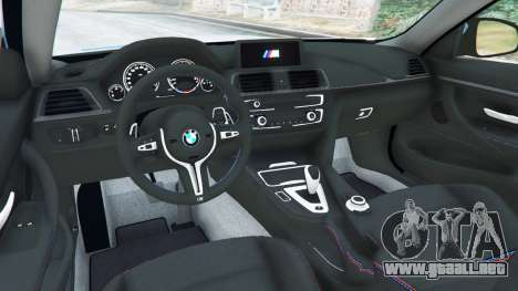 GTA 5 BMW M4 (F82) WideBody vista lateral trasera derecha