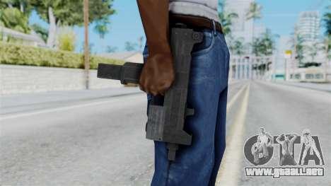 Misro SMG from RE6 para GTA San Andreas tercera pantalla