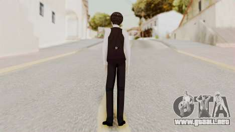 Kaneki Anteiku (Tokyo Ghoul) para GTA San Andreas tercera pantalla