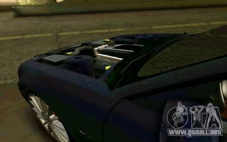 Ford Mustang GT 2005 para vista inferior GTA San Andreas