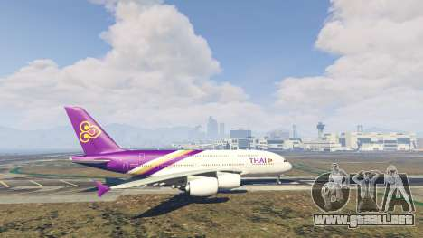 GTA 5 Airbus A380-800 v1.1