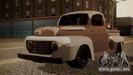 Ford F-100 1948 Simple Black Edition para GTA San Andreas