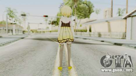 Project Diva F 2nd - Kagamine Rin Cheerful Candy para GTA San Andreas tercera pantalla
