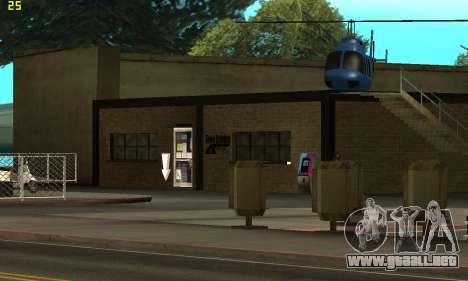 Reemplazo de texturas para la escuela de Conducc para GTA San Andreas tercera pantalla